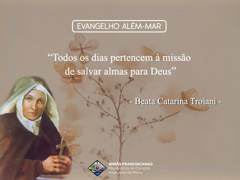 """""""Todos os dias pertencem à missão de salvar almas para Deus"""""""