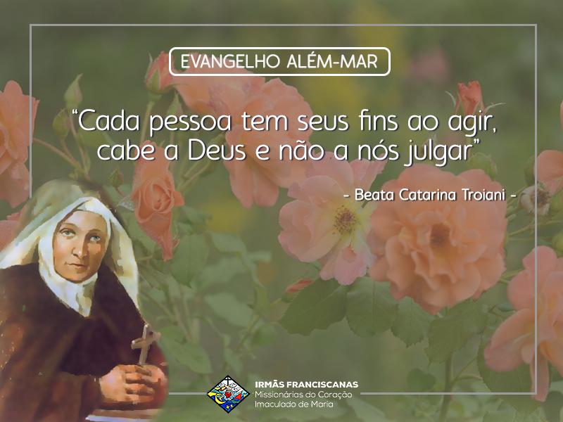 """""""Cada pessoa tem seus fins ao agir, cabe a Deus e não a nós julgar"""""""